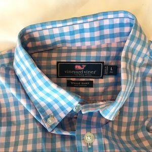 Vineyard Vines Boys Classic Whale Shirt